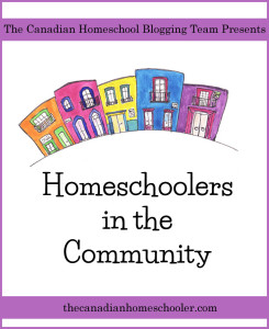 homeschoolers in the community