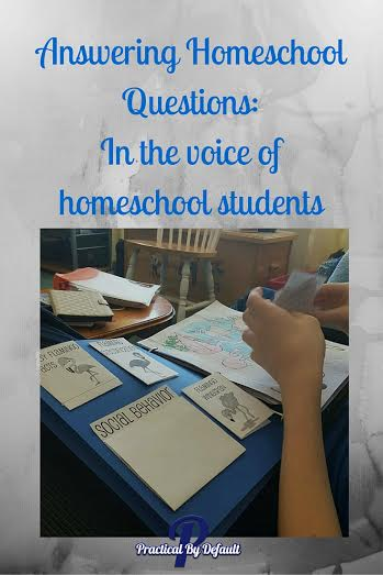 HomeschoolQuestionsStudentVoice