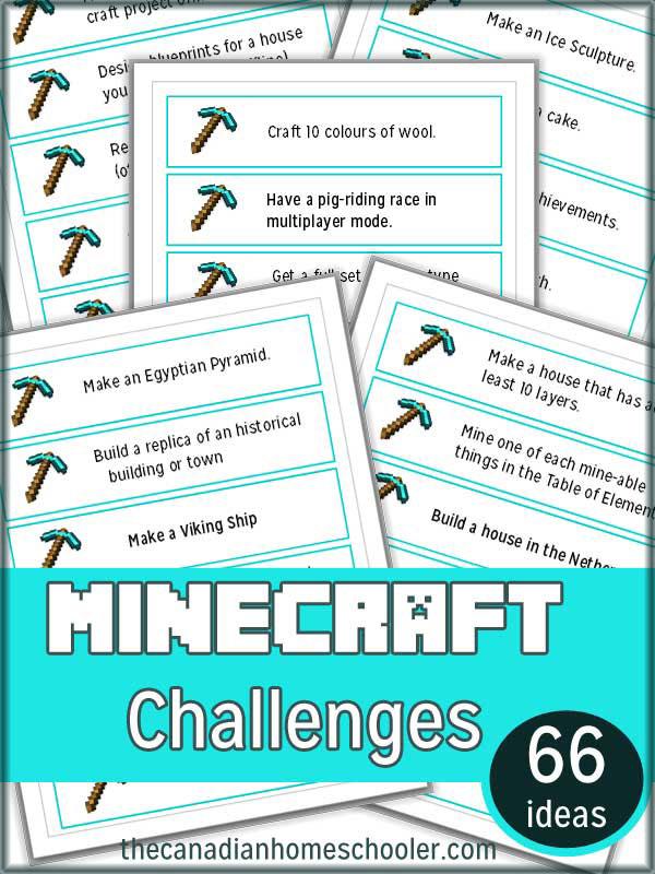 Minecraft Challenges