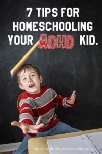 7 tips homeschooling adhd