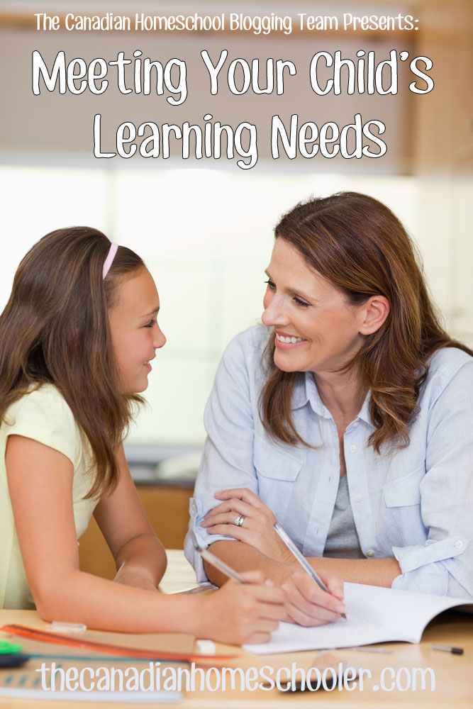 Meeting Your Child's Learning Needs