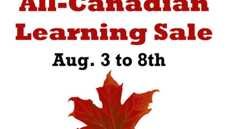 The All-Canadian Learning Sale