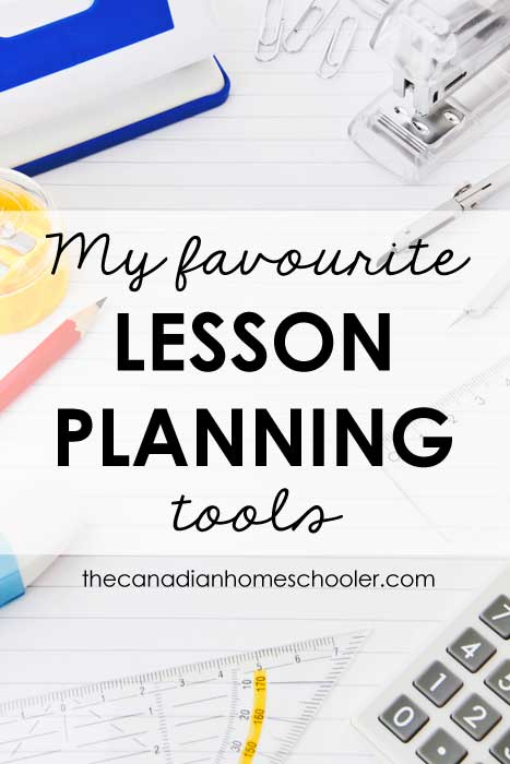 My favourite tools for lesson planning