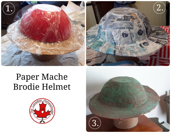 Hands-On Canadian History - DIY WWI Brodie Helmet