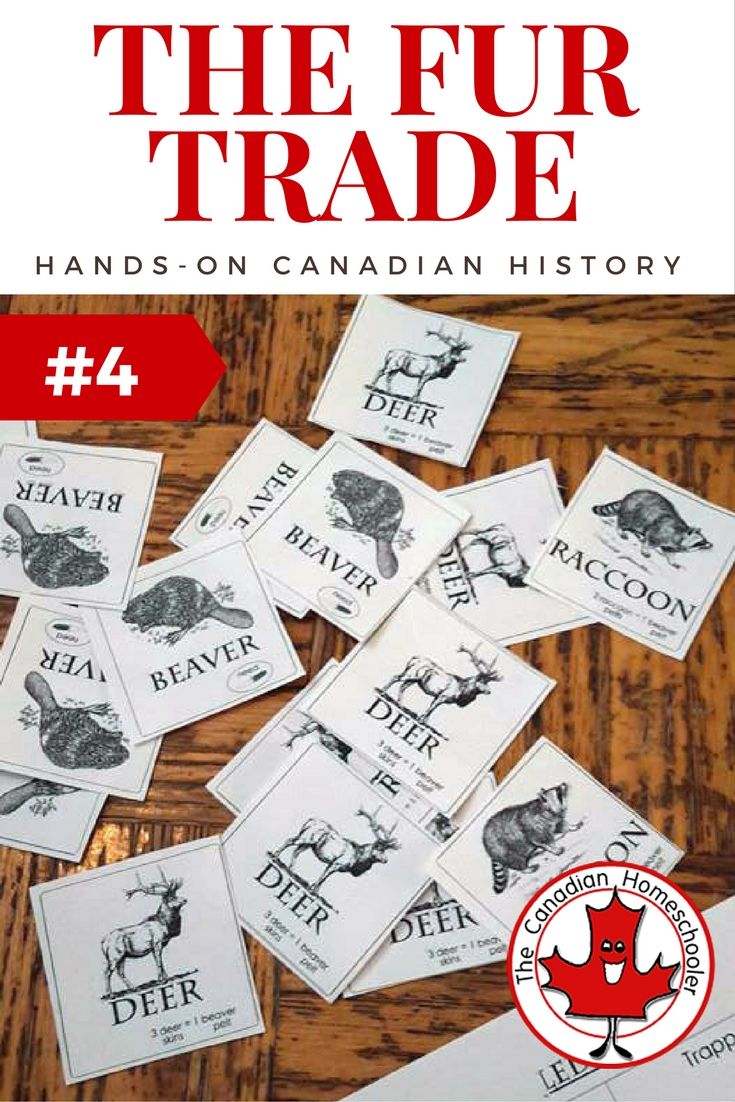 Hands On Canadian History: The Fur Trade Game