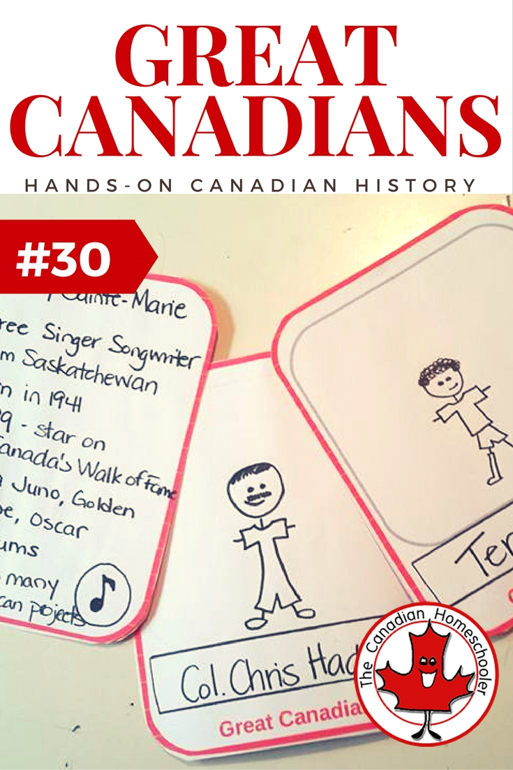 Hands-On Canadian History: Great Canadians