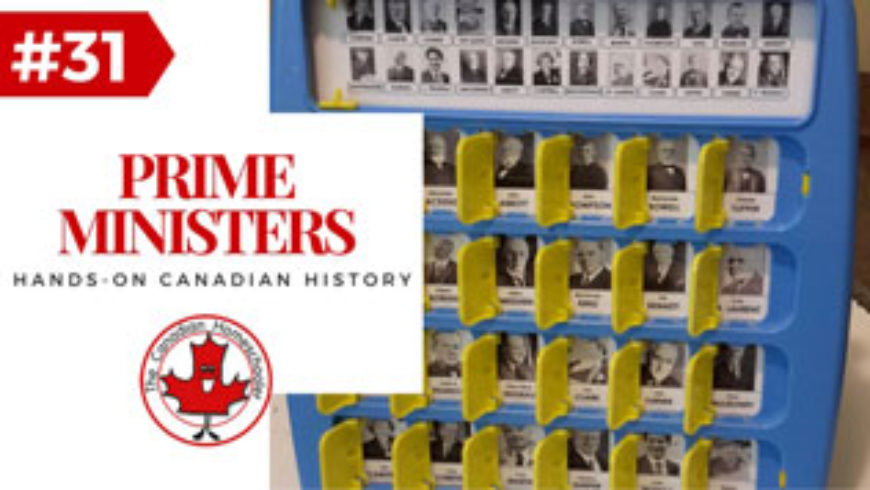 Hands-On Canadian History: Canadian Prime Ministers Guess Who Game