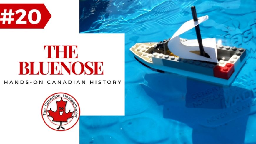 Hands-On Canadian History: The Bluenose Fishing and Racing Vessel