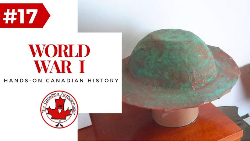 Hands-on Canadian History: World War I – Brodie Helmet