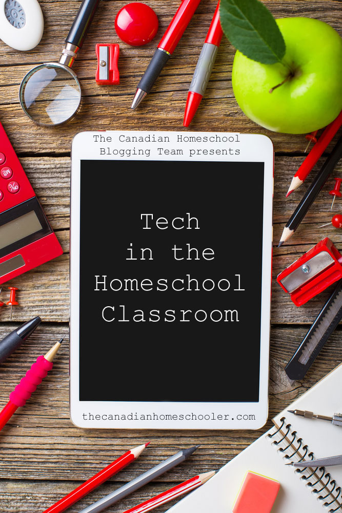 Tech in the Homeschool Classroom
