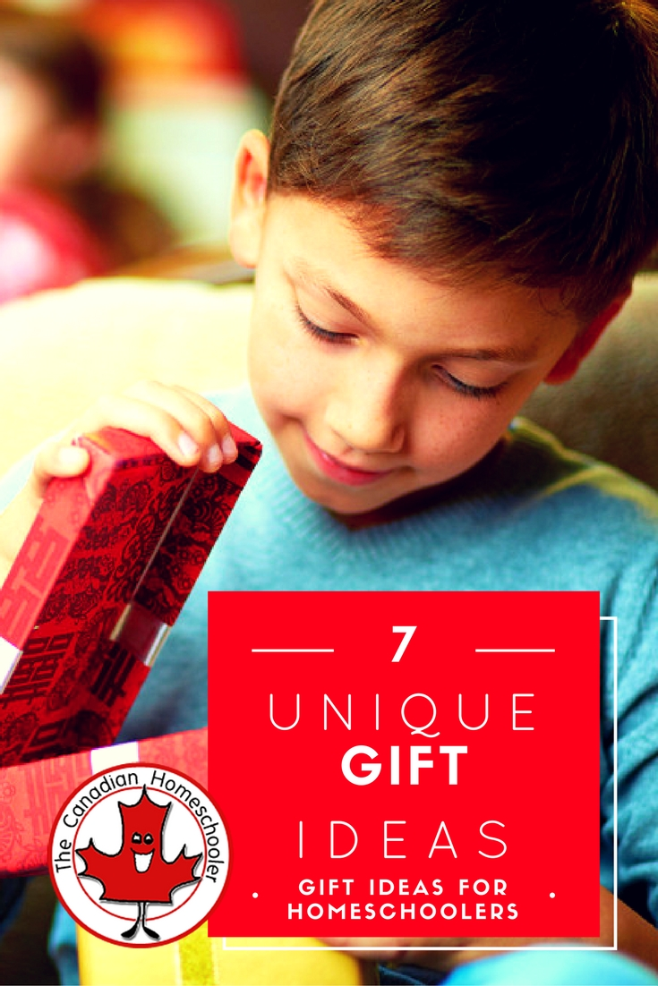 Gift Ideas for Homeschoolers: Unique Ideas