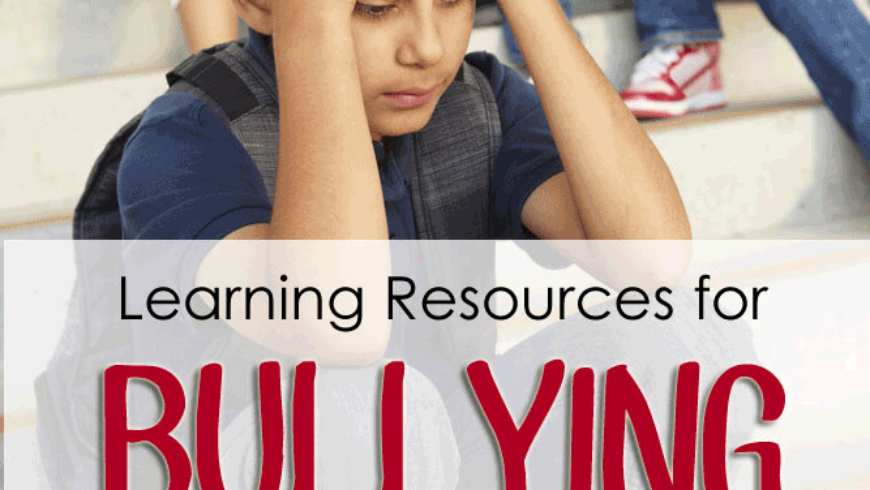 Bullying Awareness Week: Learning Resources