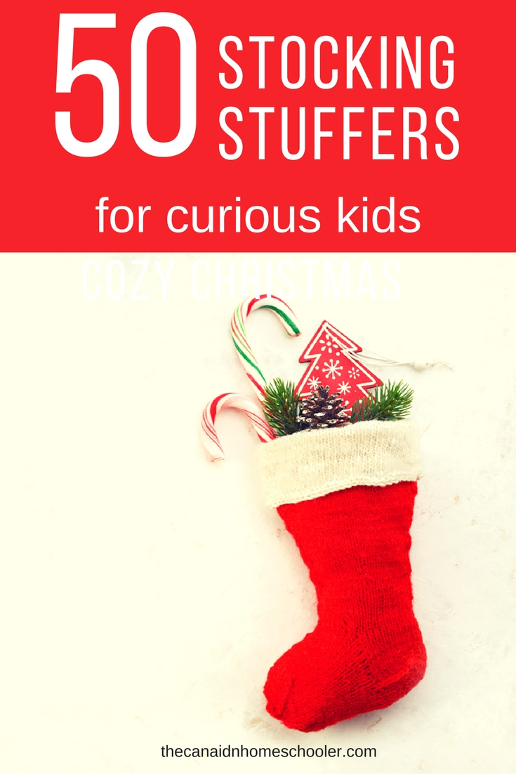 50 stocking stuffs for curious kids