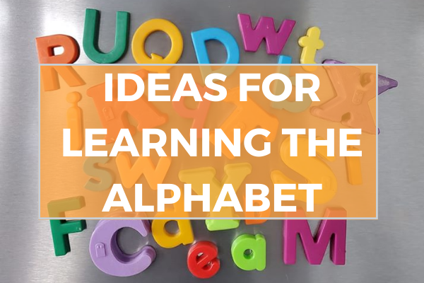 Ideas for learning the alphabet
