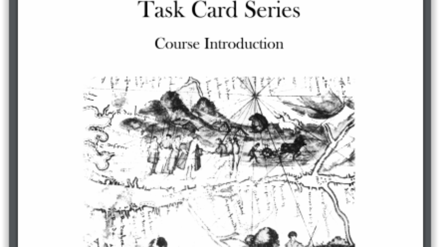 Creek Edge Press: Canadian History Task Cards