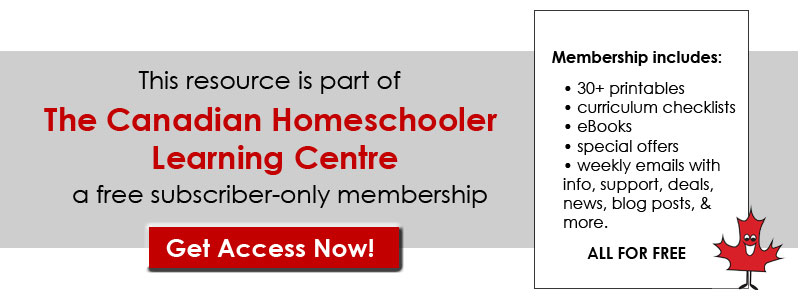 Ontario Elementary Level Curriculum Checklists