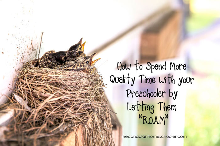 Spend Quality Time With Your Preschooler