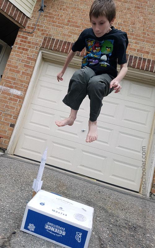 Aerodynamics - Super Jumping the Stomp Rocket