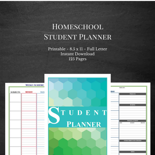Bold Student Planner