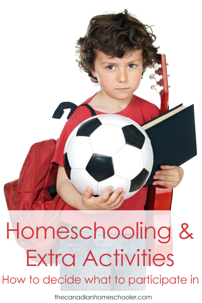 Homeschooling and Extra Activities