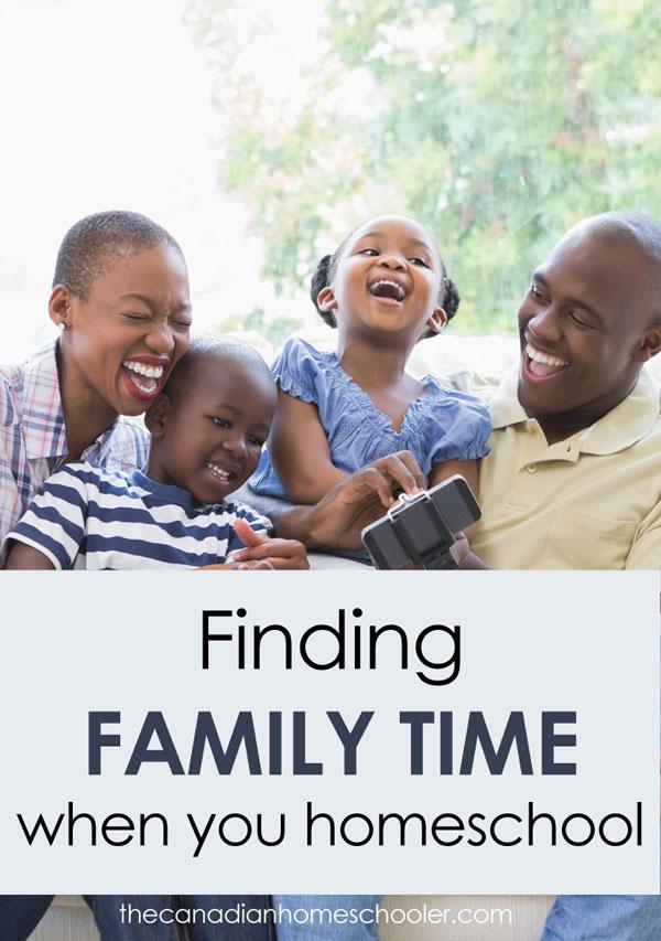 Homeschool Family Time