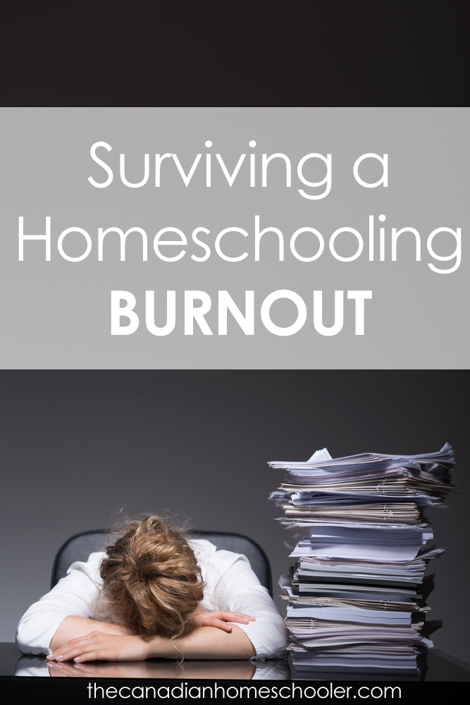 Surviving a Homeschool Burnout