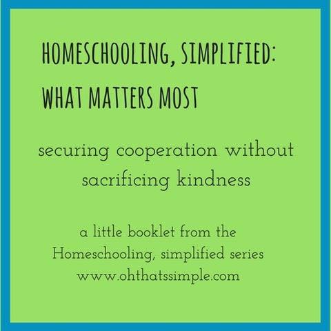 homeschool simplified