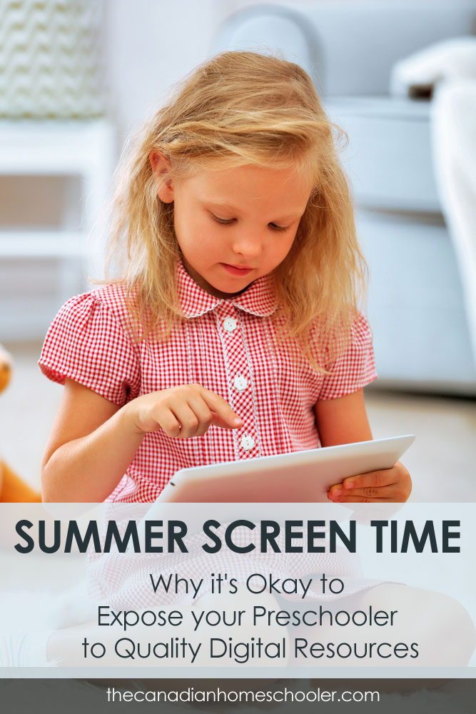 Why screen time is ok for your preschooler