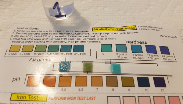 Water Testing Kit : The test