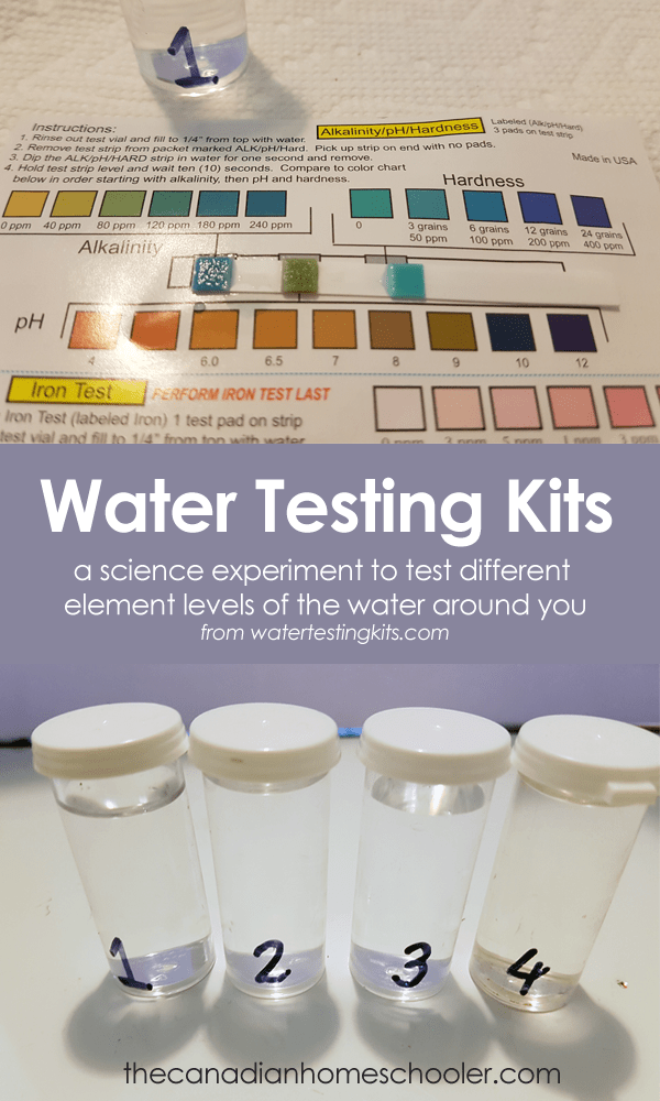 Science Fair Water Testing Kits: Learning About Water