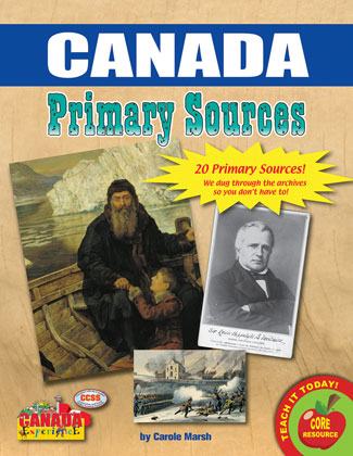 Canadian History Primary Sources