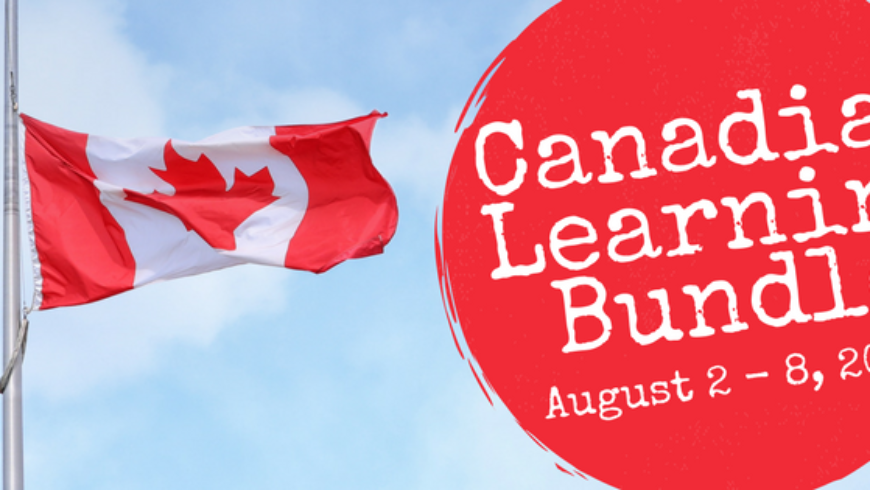 Canadian Learning Bundle 2017: An Amazing Canadian Sale!