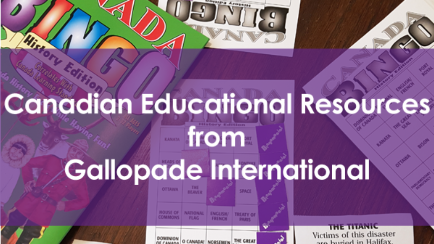Canadian Educational Resources From Gallopade International