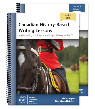 Canadian History Based Writing Lessons from IEW