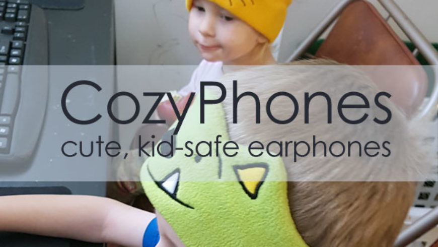 Kid-Safe Earphones from CozyPhones