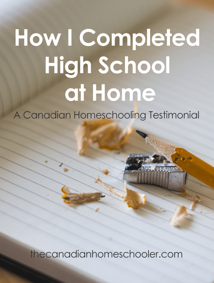 High School At Home: A Testimonial