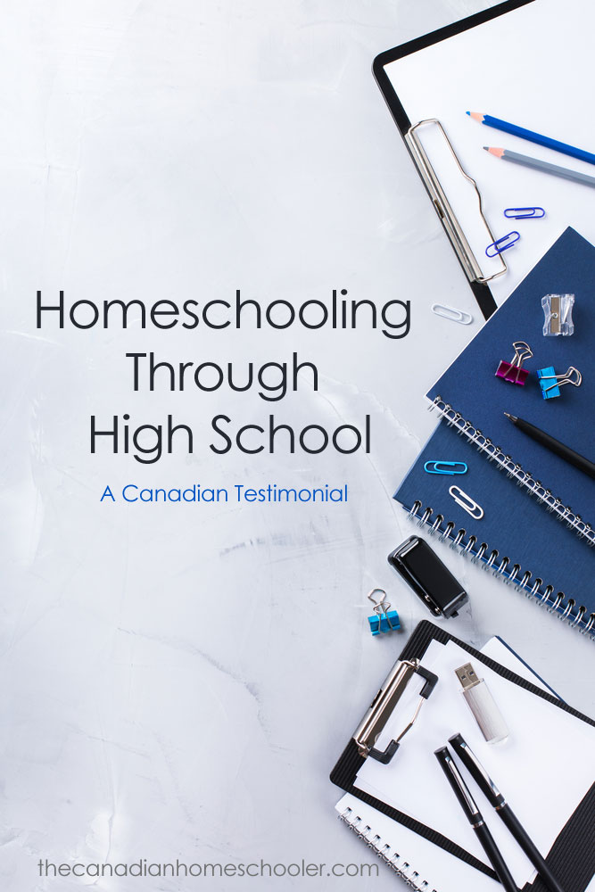 Homeschooling Through High School: A testimonial