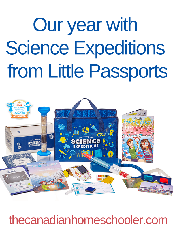 Science Expeditions Little Passports Review