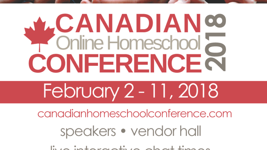 Canadian Online Homeschool Conference 2018