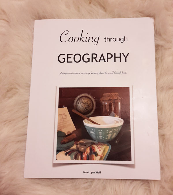 Cooking Through Geography Curriculum