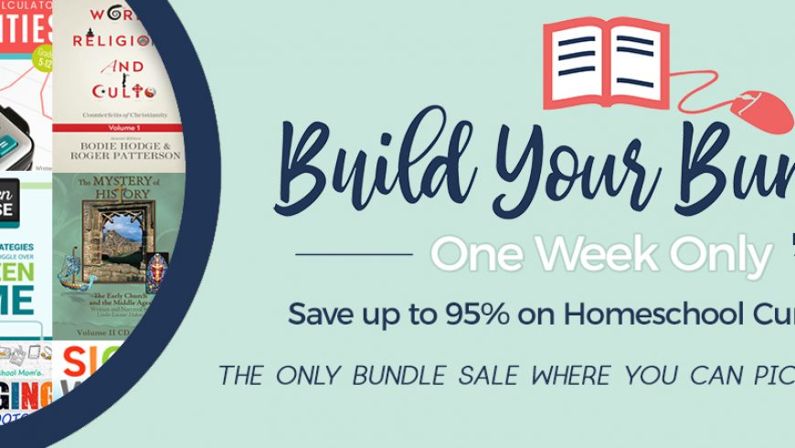 Build Your Bundle Homeschool Edition: 5 Reasons It's My Favourite Sale