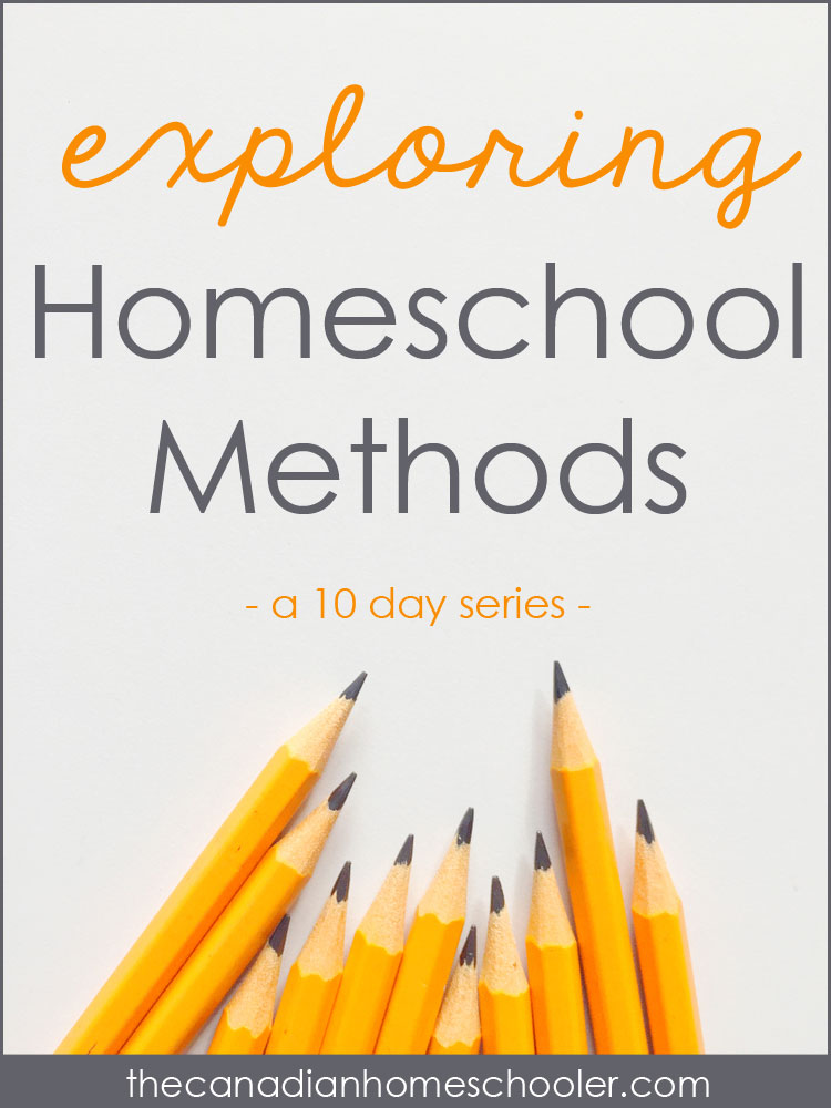 Homeschool Methods: A 10-Day Series