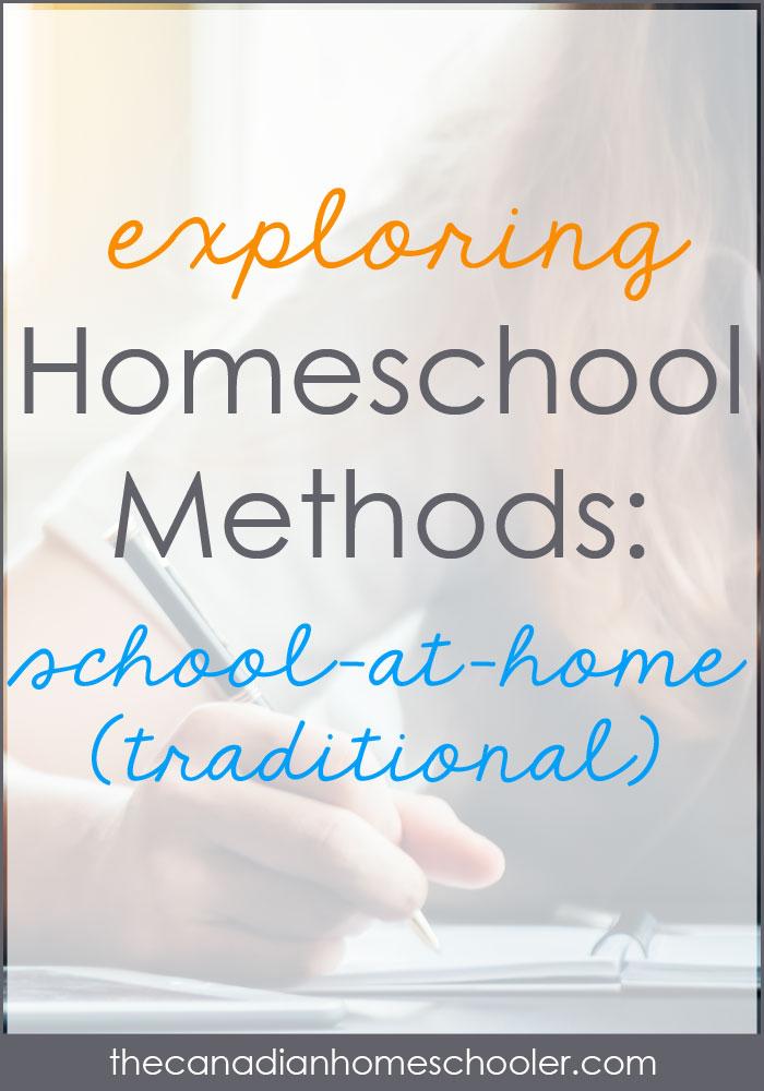 Homeschool Method: School-at-Home