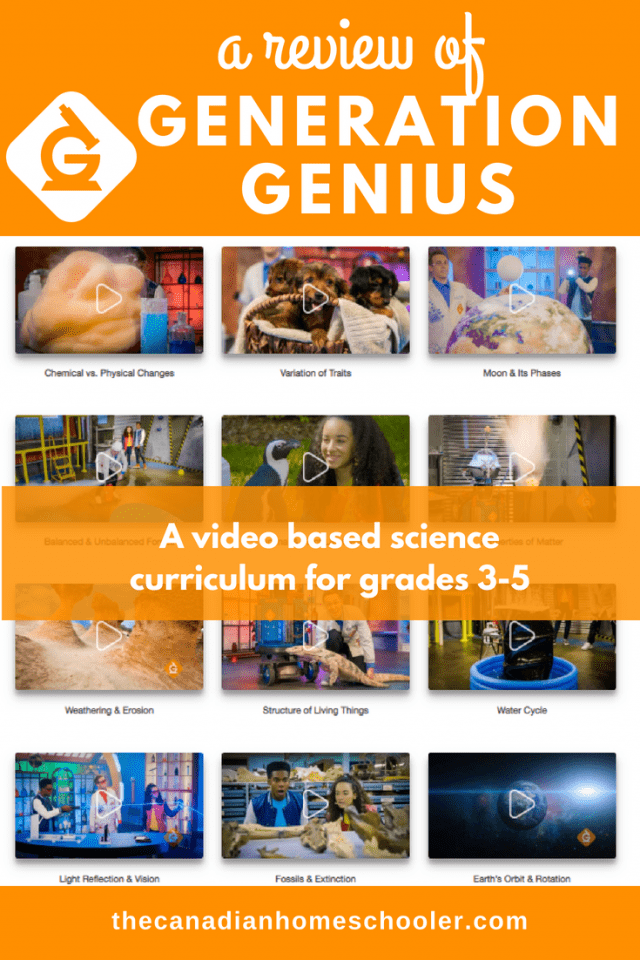 Generation Genius Science Program Review