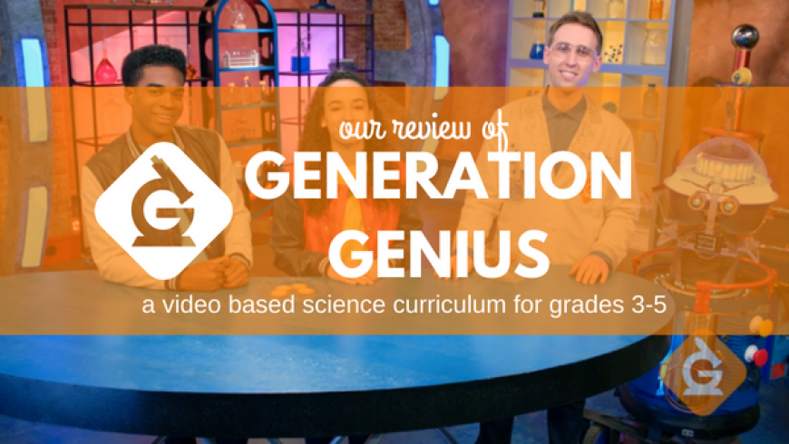 Generation Genius – A Video-Based Science Program for Grade 3 to 5