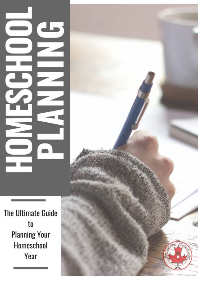 The Ultimate Guide to Homeschool Planning