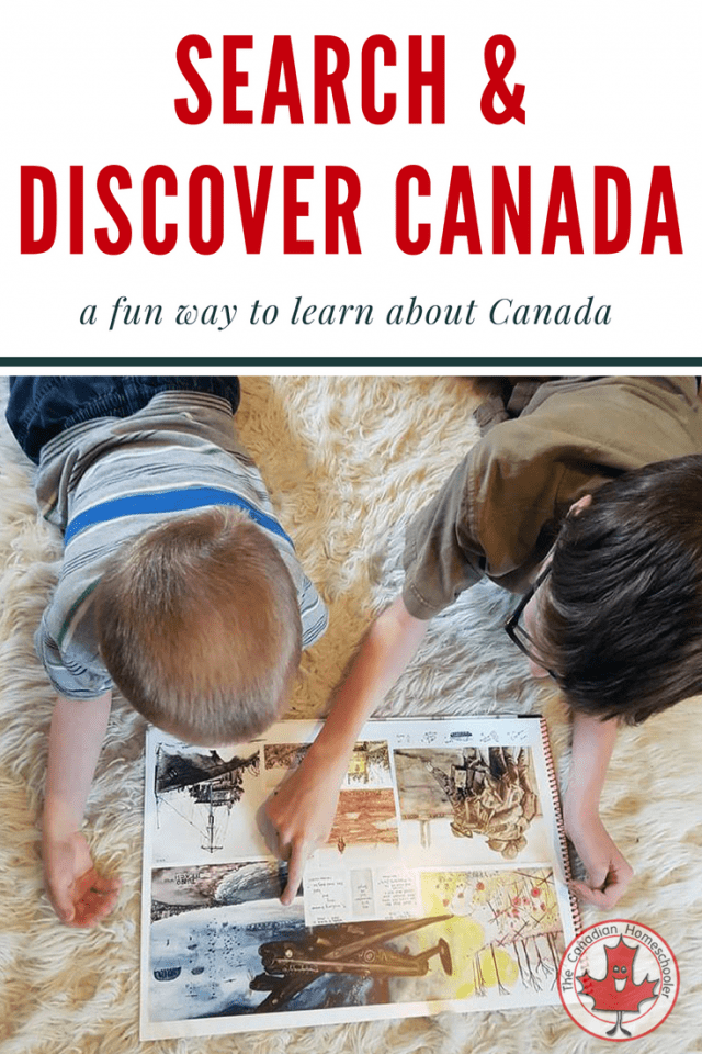 Search & Discover Canada: A Fun Way to Learn About Canada
