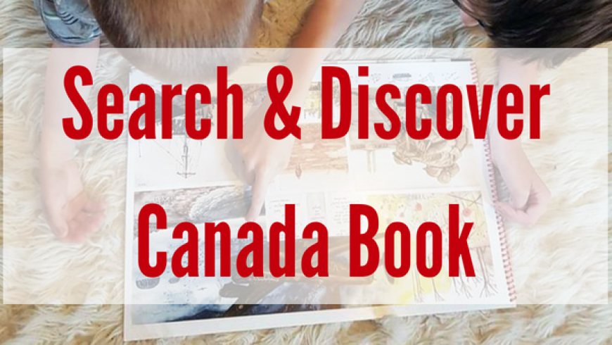 Search & Discover Canada – A Find-It Book {Review}