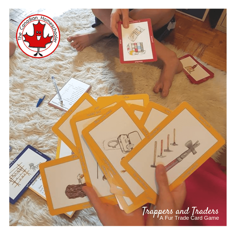 Trappers and Traders Card Game