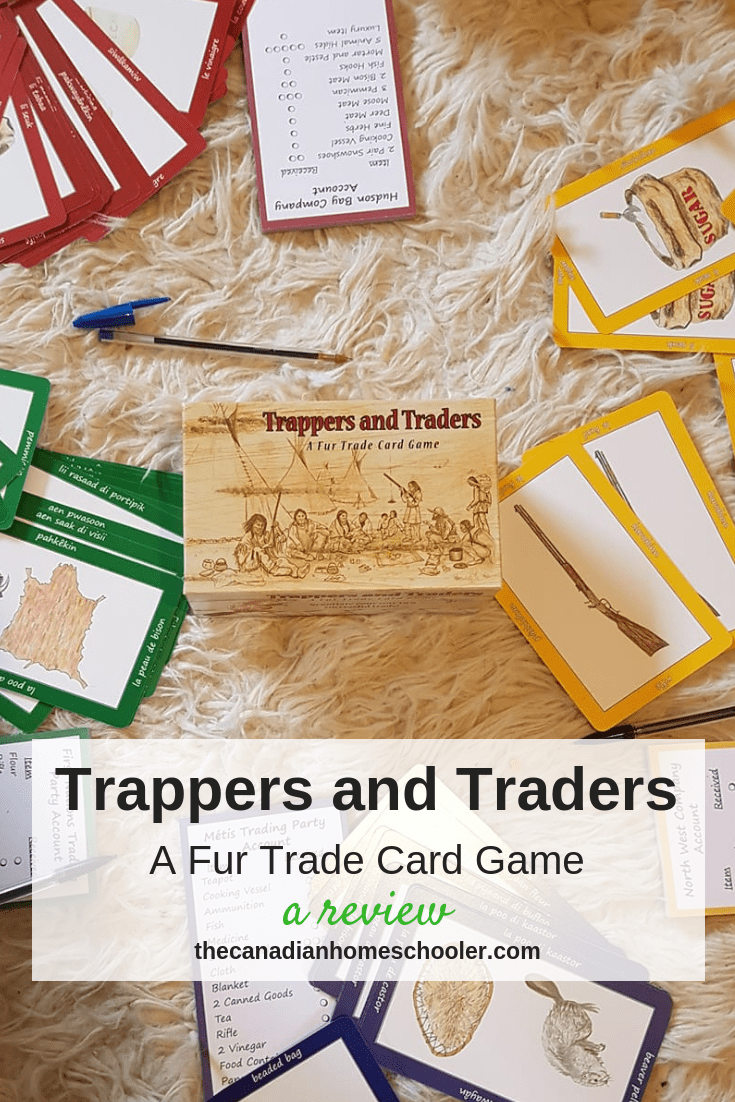 Trappers and Traders: A Fur Trade Game {Review}